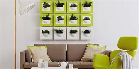 Frische Wanddekoration Mit Pflanzengreen Wall Plant Decor frische wanddekoration mit pflanzen freshouse