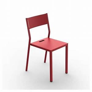 Chaise De Jardin Grise : chaise de jardin m tal take mati re grise ~ Teatrodelosmanantiales.com Idées de Décoration