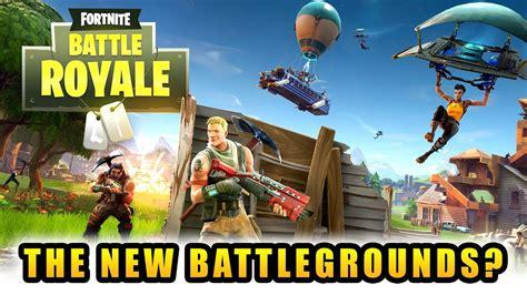 fortnite  battlegrounds battle royale mode