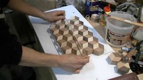 woodworking making   tumbling cutting board wood