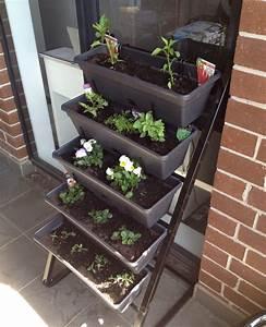 Balcony, Gardening, Freestanding, Vertical, Garden, Edition