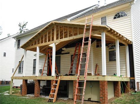 build porch roof designs