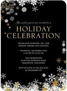 employee holiday luncheon invitation template corporate invitations search invites