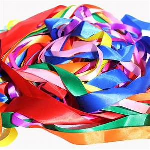 Satin Ribbons Bag 50m Assorted Bright Ideas Crafts