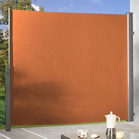 Seitenmarkise 180 X 350 by Br 252 Gmann Seitenmarkise Zum Ausziehen Terracotta 180 X 350 Cm