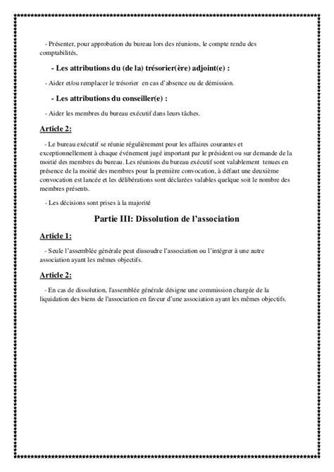 bureau d association modele convocation reunion bureau association document