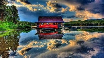 Jasper Park National Lake 1080p Maligne Wallpapers