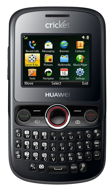 phones for cricket huawei pillar m615 basic qwerty phone for cricket wireless