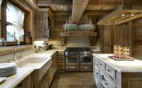 inter cuisines idées cuisine focus sur la cuisine chalet moderne