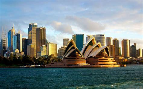 Sydney Opera House Cityscape Wallpaper  Hd Wallpapers