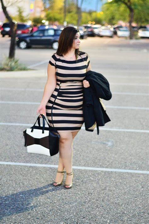 ootd  size ootd ateloquii striped bodycon dress fall