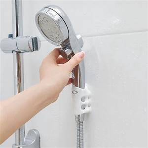 Movable, Shower, Head, Holder, Suction, Cup, Adjustable, Bathroom, Hooks, Rack, Home, Bathroom, Shower