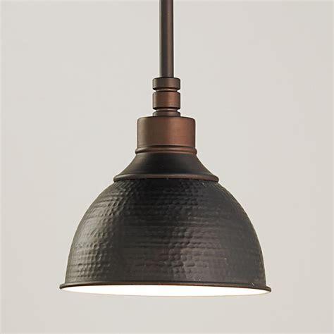 hammered metal pendant light small lighting small