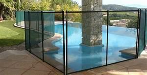 Barriere Protection Piscine : barri re de piscine amovible en pvc souple et aluminium beethoven securite piscine protection ~ Melissatoandfro.com Idées de Décoration