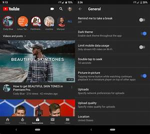 Youtube Abmelden Android : youtube 39 s dark mode is finally making its way to android ~ Eleganceandgraceweddings.com Haus und Dekorationen