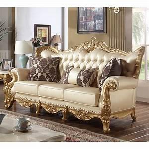 Big Sofa Vintage : ornate sofa large antique old gold copper french ornate sofa chaise longue thesofa ~ Markanthonyermac.com Haus und Dekorationen