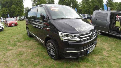 vw t 6 multivan volkswagen vw t6 multivan generation six black model 2017 walkaround interior