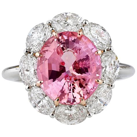 A Gorgeous 561 Carats Untreated Padparadscha Sapphire. Dull Wedding Rings. Maria Name Wedding Rings. Alexis Bellino Rings. Vrai Engagement Rings. Purple Heart Wedding Rings. Minimal Engagement Rings. Princess Engagement Rings. Green Stone Rings