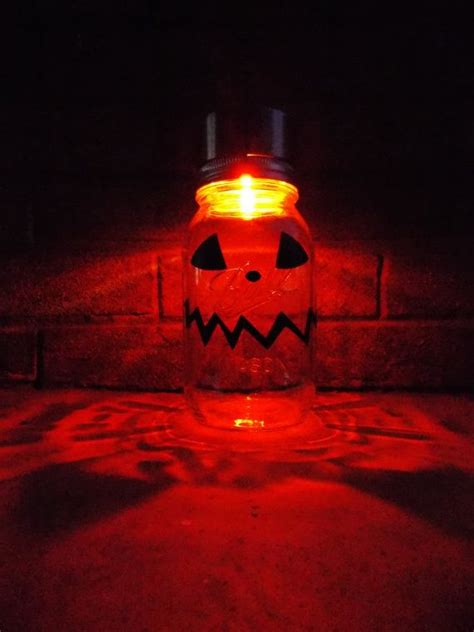 mason jars outdoor halloween decorations decoration love
