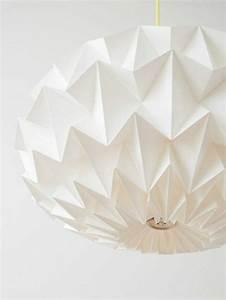 Origami Lampe Anleitung : origami lampenschirm anleitung und tolle beispiele falten origami papier und papier origami ~ Watch28wear.com Haus und Dekorationen