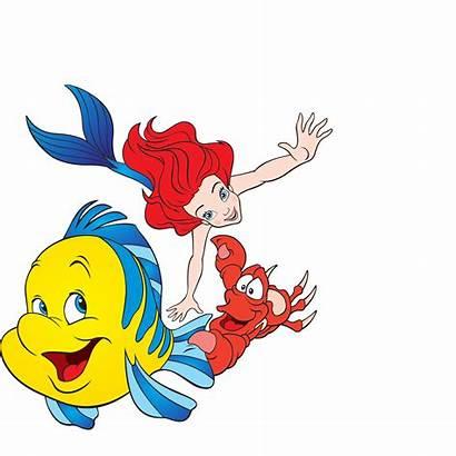 Mermaid Clipart Disney Digital Ariel Scrapbooking Princess