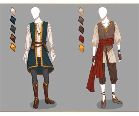 CLOSED Fashion adoptables - Male outfits #1 by Ayleidians | manga and drawing | Pinterest | Male ...