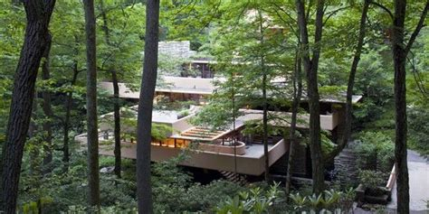 la maison sur la cascade 765 best images about frank lloyd wright on usonian frank lloyd wright and green
