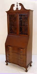 1289 governor winthrop style bookcase desk
