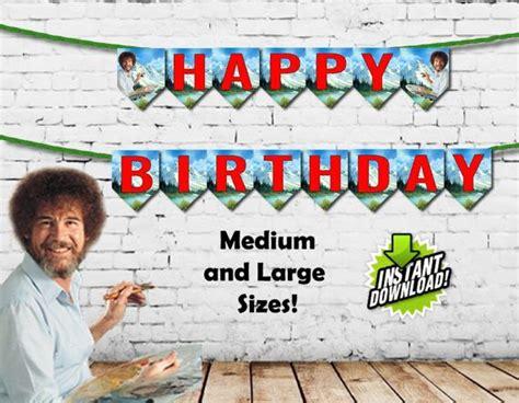 Best 25+ Bob Ross Happy Birthday Ideas On Pinterest