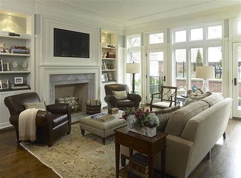Neutral Family Room by Living Room Decorating Ideas On A Budget Classy And