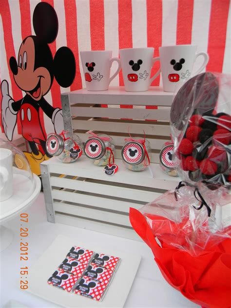 cumples tematicos candy bar mickey mouse