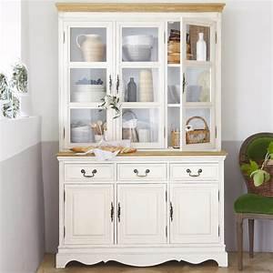 formidable vitrine maison du monde 1 vaisselier en bois With maison du monde vitrine