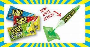Juicy Drop Taffy. Flavor Pieces Of Taffy With Tasty Gel In ...