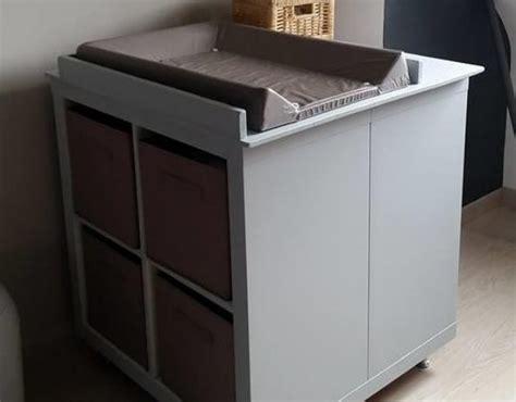 meuble  langer avec du rangement
