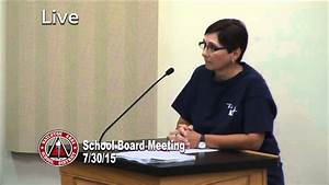 HASD School Board Meeting Live 7/30/15 - YouTube