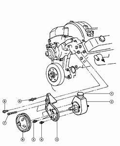 2001 Dodge Ram 2500 Pump  Power Steering  Mounting