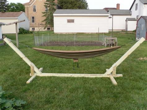 Hammock Chair Stand Plans by 30 Diy Hammock Ideas Inhabit Zone