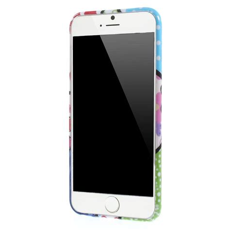 iphone 6 printer bloemetjes print iphone 6 plus tpu hoesje
