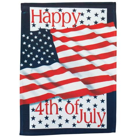 4th of july garden flags 4th of july garden flag american garden flag kimball 7362