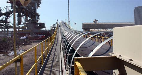 belt conveyors troughing idlers