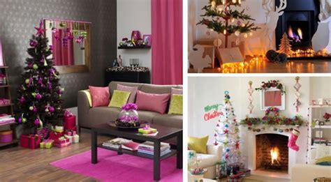 decoration salon pour noel exemples damenagements