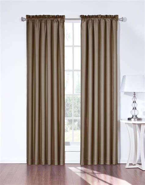 Kmart Eclipse Blackout Curtains by Eclipse Curtains Brown Birgit Blackout Curtain Panel