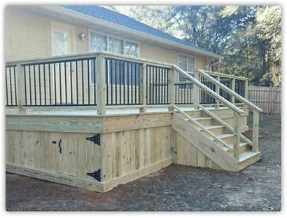 Wood Decks Fence Deck Fences Fencing Tallahassee