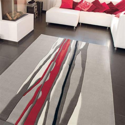 Tapis Salon Moderne Pas Cher by Tapis De Salon Red Trace Par Arte Espina