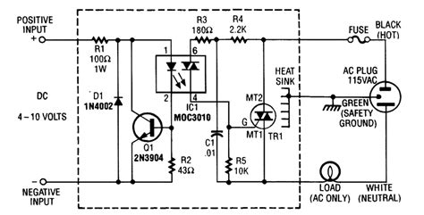 Solid State Relay Circuit Control
