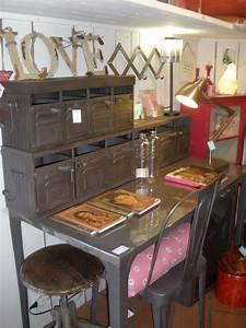Bureau Style Industriel : bureau style industriel lili boheme ~ Teatrodelosmanantiales.com Idées de Décoration