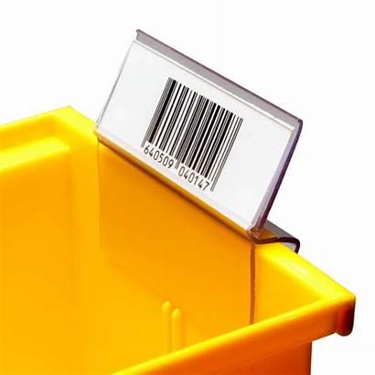 Label Bin Clip Holder Holders Lh Insertable