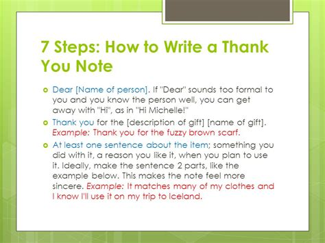 how to write a thank you note thank you notes reasons to write a thank you note to show gratitude ppt video online download