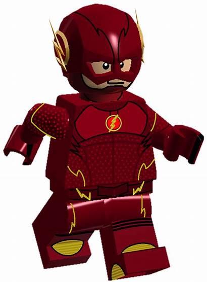 Lego Flash Clipart Superhero Legos Transparent Dc