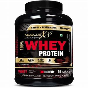 Musclexp 100  Whey Protein - 2kg  4 4 Lbs   Double Rich Chocolate